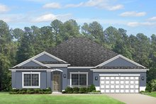 Home Plan - Colonial Exterior - Front Elevation Plan #1058-124