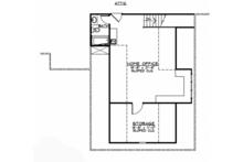 European Floor Plan - Upper Floor Plan Plan #1064-1