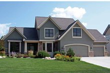Traditional Exterior - Front Elevation Plan #51-1092