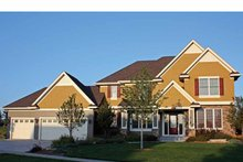 House Plan Design - European Exterior - Front Elevation Plan #51-1107