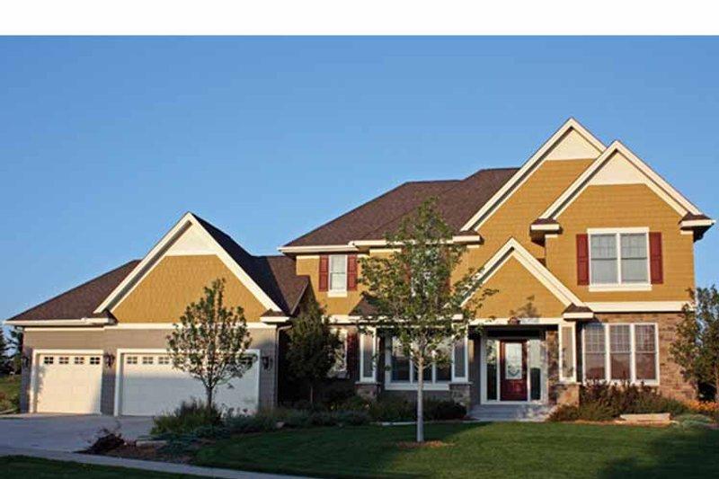 House Plan Design - European Exterior - Front Elevation Plan #51-1107