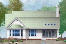 Ranch Exterior - Rear Elevation Plan #929-991