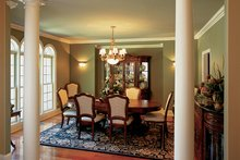 Architectural House Design - Country Interior - Dining Room Plan #927-502