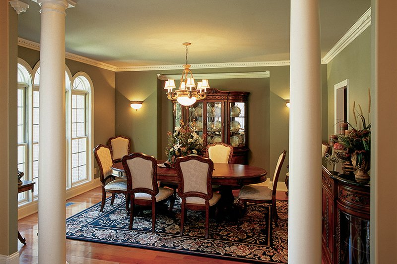 Country Interior - Dining Room Plan #927-502 - Houseplans.com