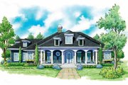 Classical Style House Plan - 3 Beds 2.5 Baths 1989 Sq/Ft Plan #930-226 Exterior - Front Elevation