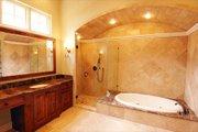 European Style House Plan - 4 Beds 5.5 Baths 5900 Sq/Ft Plan #449-3 Interior - Master Bathroom