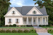 Country Style House Plan - 3 Beds 2.5 Baths 2182 Sq/Ft Plan #927-9 Exterior - Front Elevation