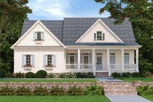 Dream House Plan - Country Exterior - Front Elevation Plan #927-9