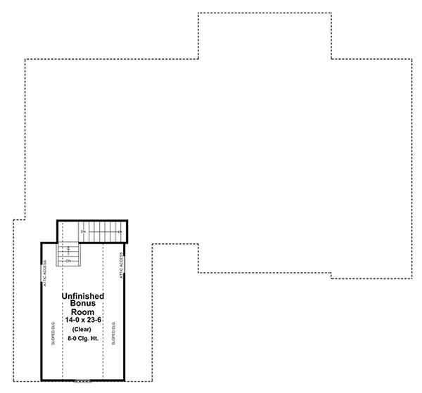 European Floor Plan - Other Floor Plan Plan #21-242