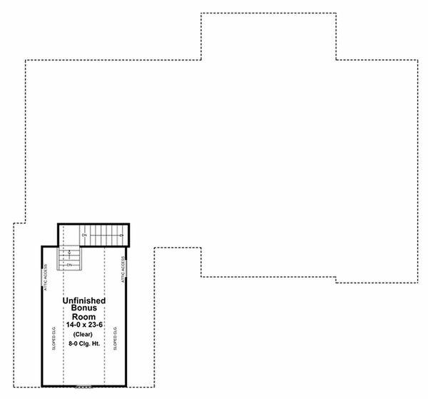Architectural House Design - European Floor Plan - Other Floor Plan #21-242