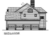 Country Style House Plan - 5 Beds 5 Baths 2698 Sq/Ft Plan #56-544 Exterior - Other Elevation