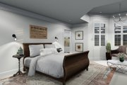 Victorian Style House Plan - 4 Beds 3 Baths 2898 Sq/Ft Plan #1060-51 Interior - Master Bedroom