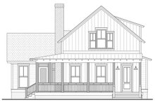Architectural House Design - Farmhouse Exterior - Front Elevation Plan #1067-5