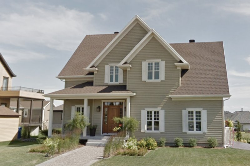 House Plan Design - Country Exterior - Front Elevation Plan #23-2323