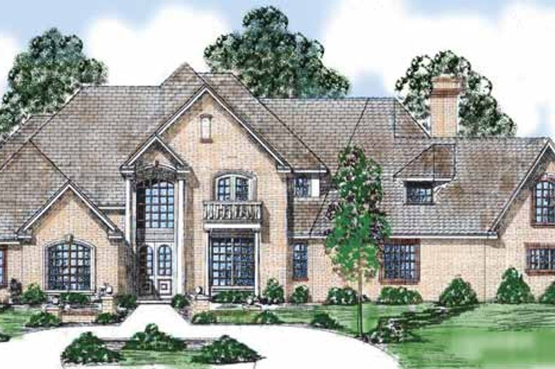 Traditional Exterior - Front Elevation Plan #52-241 - Houseplans.com