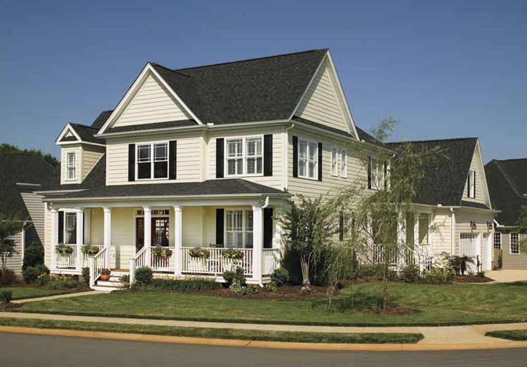 Country style house plan 4 beds 2 5 baths 2500 sq ft for Eastlake house plan