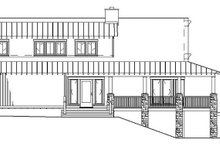 Home Plan - Cabin Exterior - Other Elevation Plan #17-3303