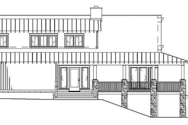 Cabin Exterior - Other Elevation Plan #17-3303 - Houseplans.com