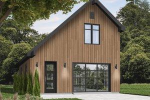 House Plan Design - Contemporary Exterior - Front Elevation Plan #23-455