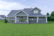 Craftsman Style House Plan - 3 Beds 2.5 Baths 2315 Sq/Ft Plan #1070-58 Exterior - Rear Elevation