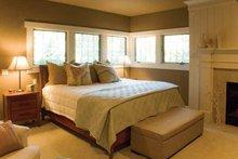 Architectural House Design - Prairie Interior - Master Bedroom Plan #928-50