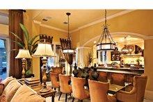 Architectural House Design - Mediterranean Interior - Dining Room Plan #930-440