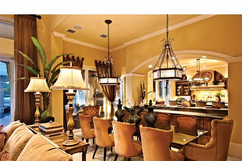 Mediterranean Interior - Dining Room Plan #930-440 - Houseplans.com