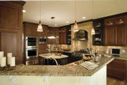 Country Style House Plan - 3 Beds 3.5 Baths 3285 Sq/Ft Plan #930-142 Interior - Kitchen