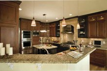 Country Interior - Kitchen Plan #930-142