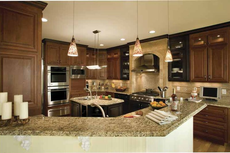 Country Interior - Kitchen Plan #930-142 - Houseplans.com