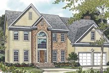 Home Plan - Traditional Exterior - Front Elevation Plan #453-491