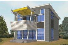 House Plan Design - Contemporary Exterior - Front Elevation Plan #569-28
