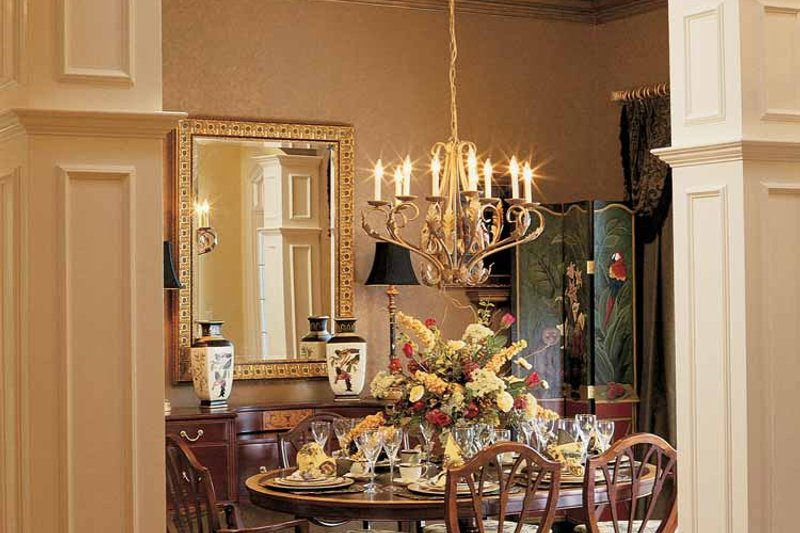 Country Interior - Dining Room Plan #952-275 - Houseplans.com