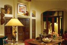 Mediterranean Interior - Family Room Plan #930-97