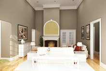 Architectural House Design - Traditional Interior - Family Room Plan #45-567