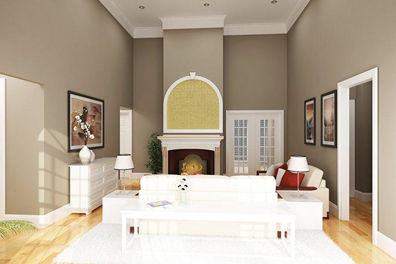 Traditional Interior - Family Room Plan #45-567 - Houseplans.com