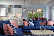 Home Plan - Mediterranean Interior - Family Room Plan #930-457