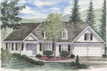 Dream House Plan - Ranch Exterior - Front Elevation Plan #316-251