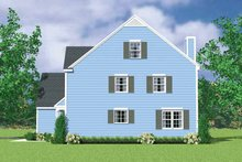 House Plan Design - Colonial Exterior - Other Elevation Plan #72-1122