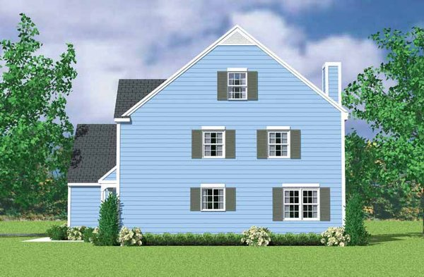 Colonial Floor Plan - Other Floor Plan Plan #72-1122
