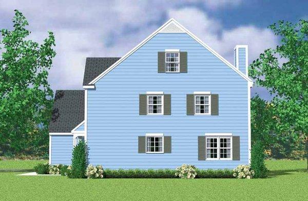 House Blueprint - Colonial Floor Plan - Other Floor Plan #72-1122