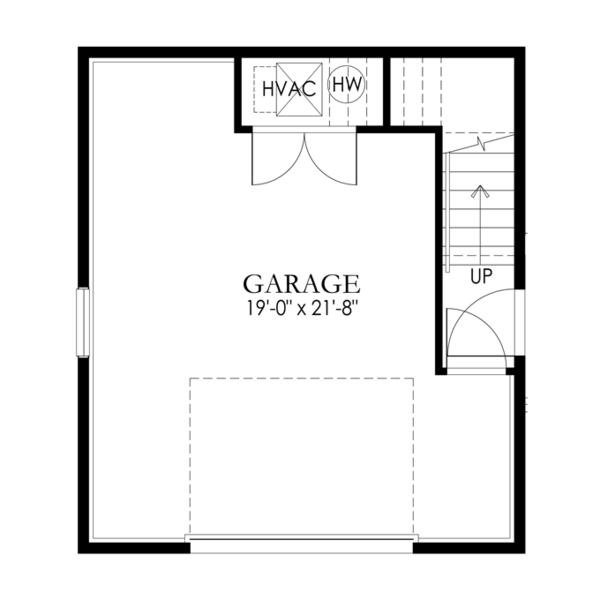 Craftsman Floor Plan - Main Floor Plan Plan #1029-65