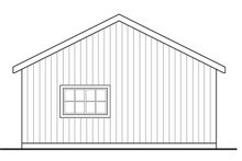 Traditional Exterior - Rear Elevation Plan #124-1040