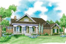 House Design - Country Exterior - Front Elevation Plan #930-231