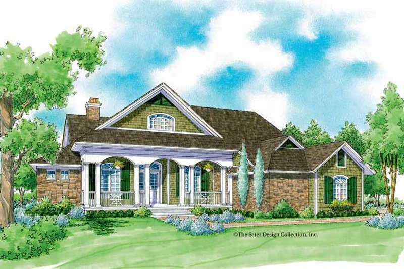 Country Exterior - Front Elevation Plan #930-231 - Houseplans.com