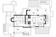 Contemporary Style House Plan - 5 Beds 5 Baths 2988 Sq/Ft Plan #912-1 Floor Plan - Upper Floor Plan