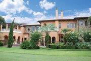 Mediterranean Style House Plan - 5 Beds 5 Baths 7411 Sq/Ft Plan #1058-16 Exterior - Rear Elevation