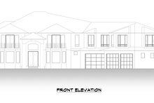 Dream House Plan - Traditional Exterior - Front Elevation Plan #1066-127