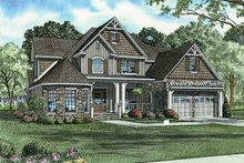 Country Exterior - Front Elevation Plan #17-2677