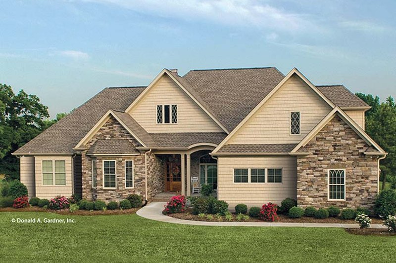 Country Exterior - Front Elevation Plan #929-873 - Houseplans.com